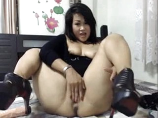 Thick Asian Squirt and Anal..