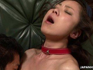 Asian babe feel good and enjoy fuck