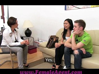 FemaleAgent Amazing Asian..