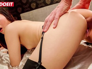 LETSDOEIT - Asian Cutie Katana Takes Dick In Fetish Fantasy Sex