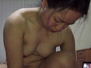 Asian MILF - Fucking 8 inch..