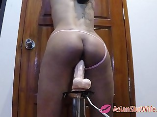 Ass Whipping Asian Slut
