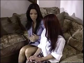 Lesbian Asian School