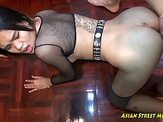 My Cock Deep In Her Asian..