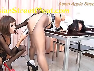 Skank Asian Bondage Dykes