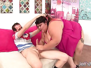 Fat Asian Plumper Sugar gets her pussy reamed
