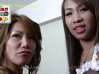 Asian Threesome Cherry And..