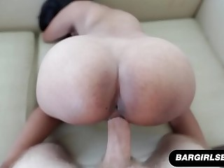 Doggystyle Asian Amateur MILF Gets A Creampie