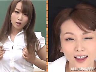 Hawt japanese teacher ends..