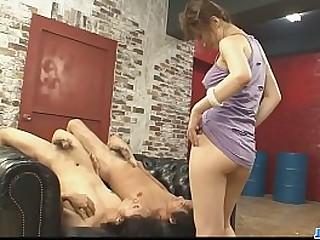 Hot japan girl Sayaka Tsuzi in group sex video