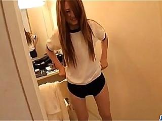Asian schoolgirl,�Sakamoto Hikari, amazing solo cam show
