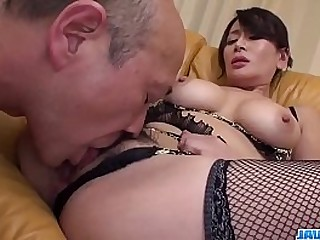 Hot japan girl Rei Kitajima beside beautiful oral sex scene