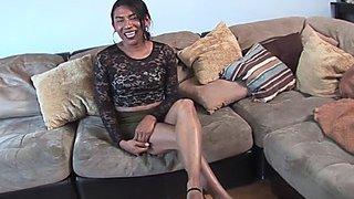 Oriental trans filmed at..