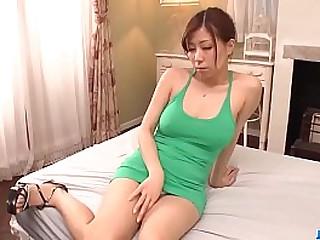 Hot japan girl Chihiro Akino suck a dick